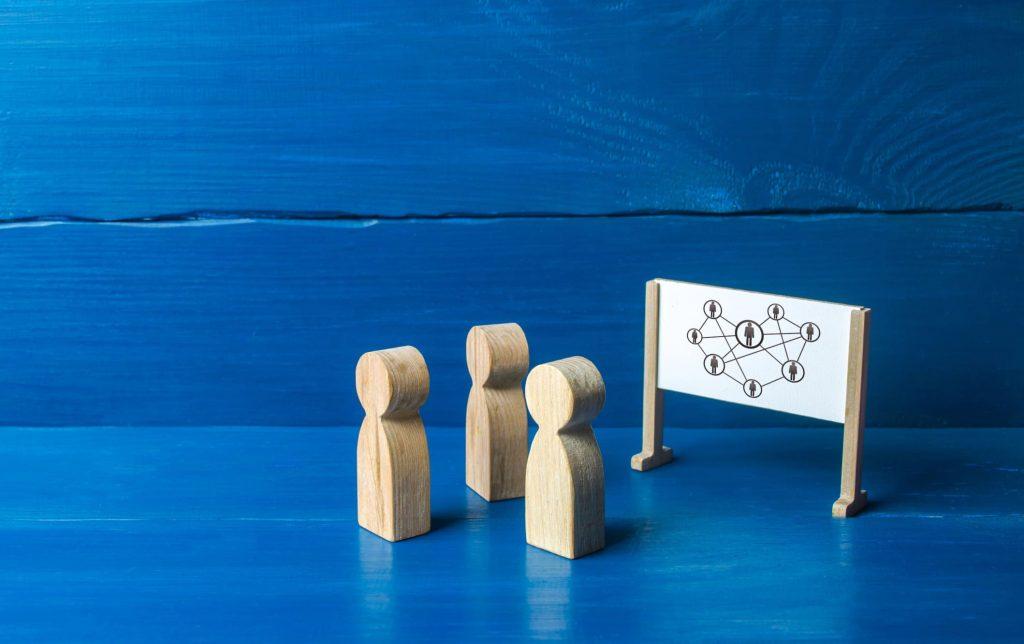 Estabeleça uma estrutura hierárquica